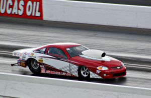 Car on Track at US Nationals
