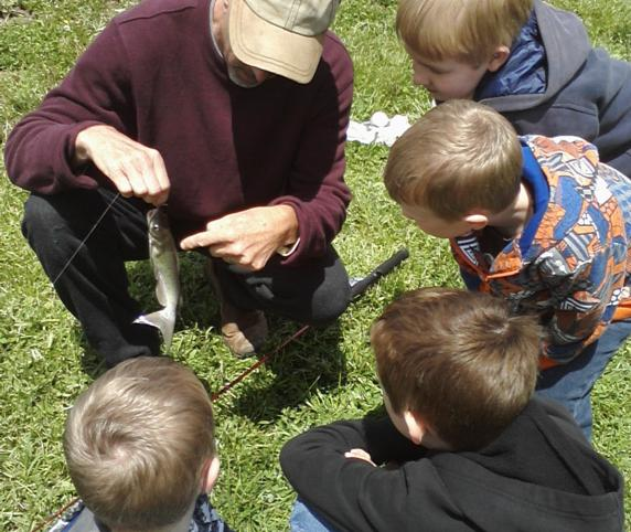 Take the kids fishing on Saturday at Sodalis Nature Park in Plainfield, Indiana
