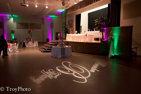 Wedding reception at Hendricks County 4-H Fairgrounds & Conference Complex