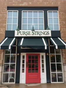 purse strings front entrance