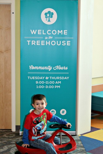 The Treehouse at Plainfield Christian Church in Plainfield, Indiana, is open to the public two days a week.