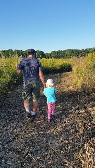 Walking the McCloud Prairie Maze in Hendricks County, Indiana