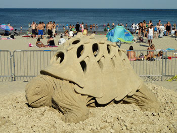 Revere Beach Sand Sculpture