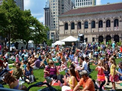 Copley Square Summer Arts Weekend