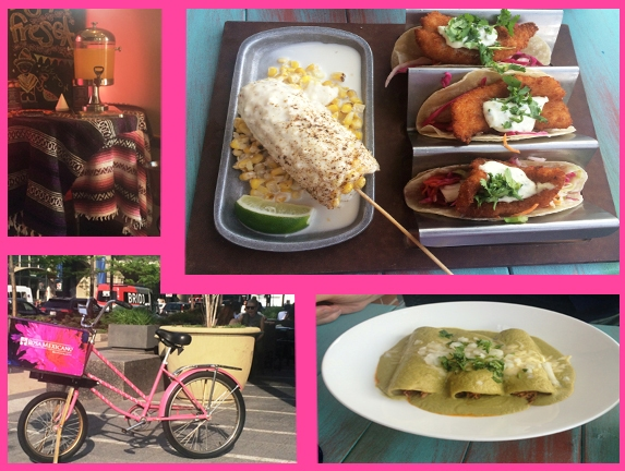 Rosa Mexicano collage