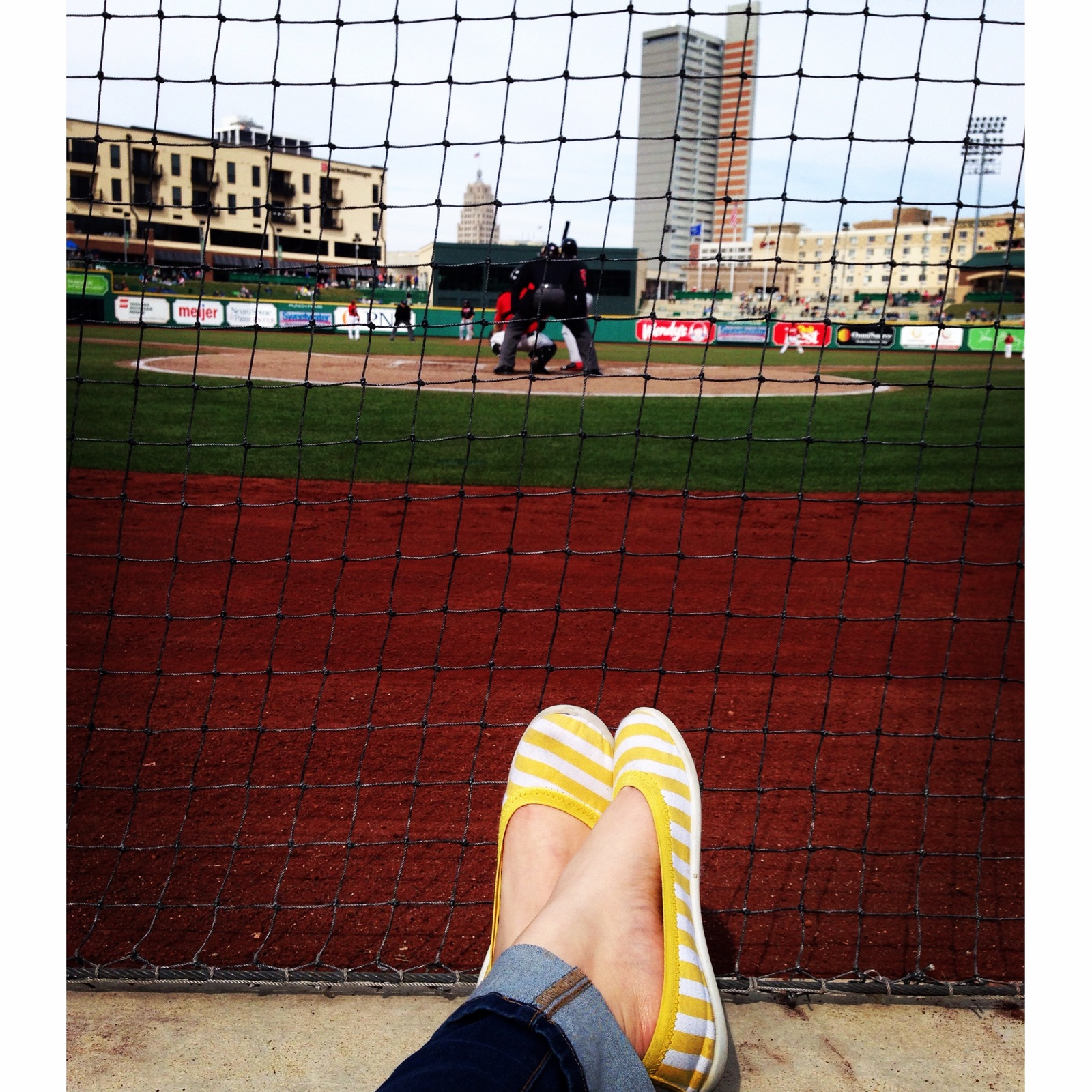 Kick your feet up and relax while watching the TinCaps.
