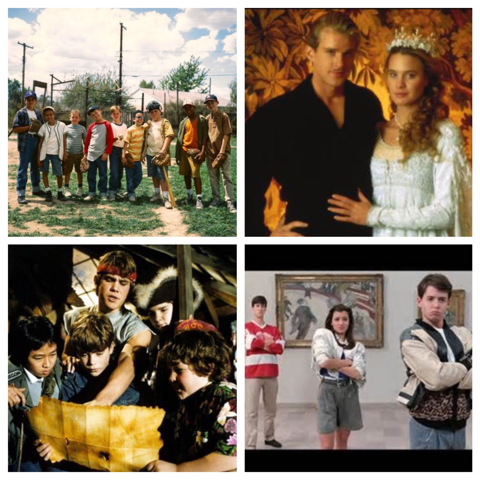Sandlot, Princess Bride, The Goonies and Ferris Bueller's Day Off will all be shown at the Living Fort Wayne Film Series!