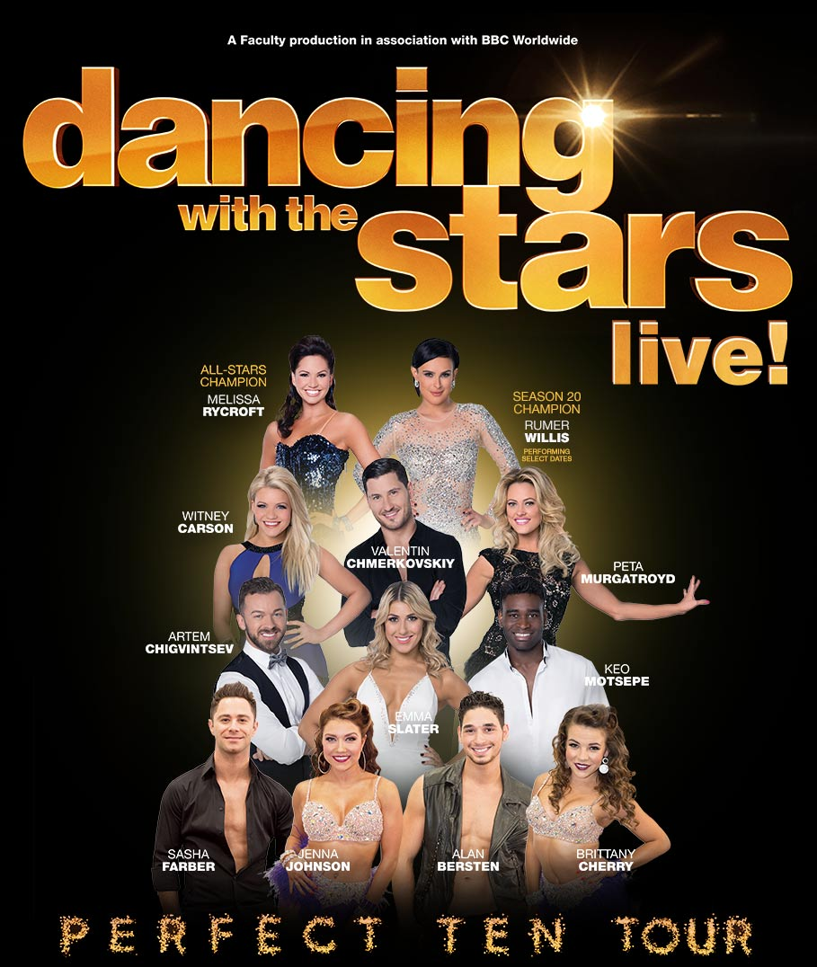 Dancing with the Stars: LIVE! will sashay onto the Embassy Stage on July 31.
