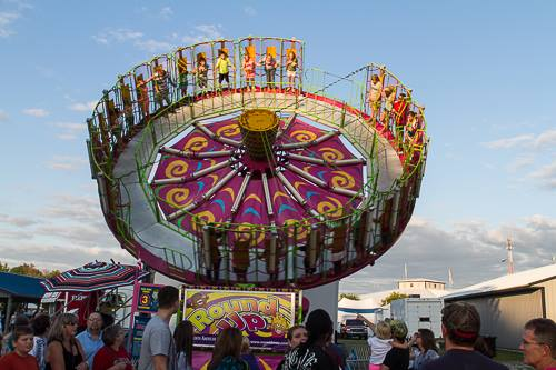 Carnival rides are a huge hit at the Allen County Fair!