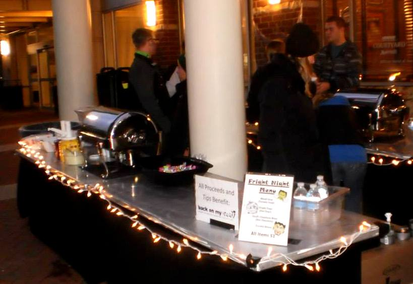 Pop by the downtown Marriott to roast some marshmallows and grab a cup of hot cocoa!