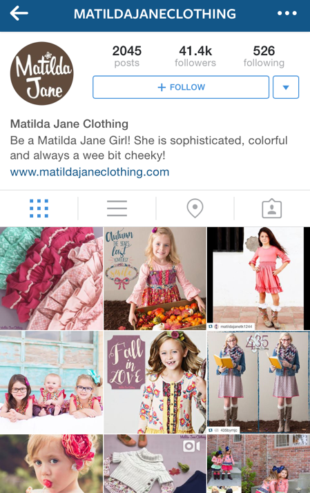 Browse the Matilda Jane Clothing Instagram for swoon worthy pictures of pretty pieces.