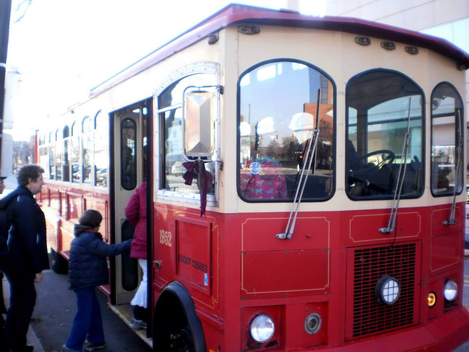 The Holly Trolley provides quick and easy access to new and exciting shopping destinations downtown!
