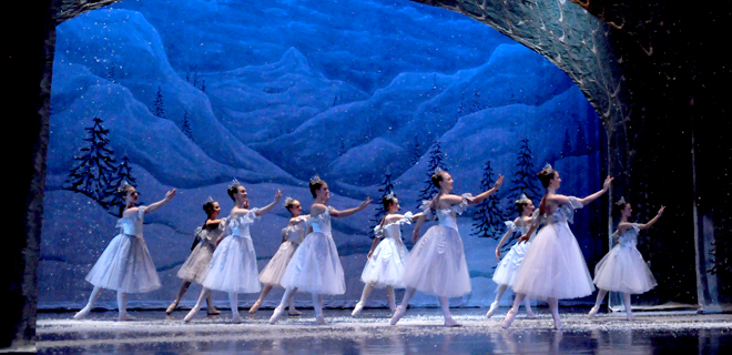Not only is The Nutcracker tale magical, so are the sets and dancers that grace the stage!
