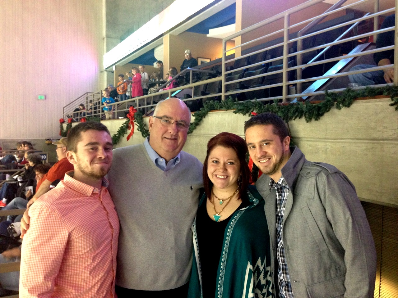 The annual Komets Thanksgiving night game is a tradition for myself, my brothers and my grandpa!