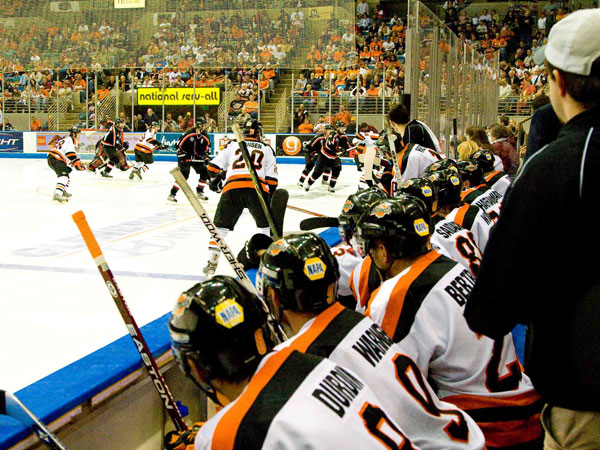 Watch the puck drop with the Fort Wayne Komets at the Memorial Coliseum.