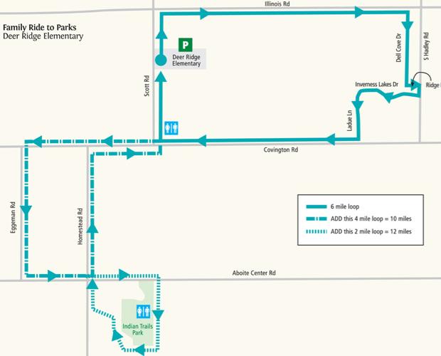 Fort Wayne Trails Itineraries: Deer Ridge Trail