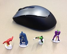 DC Heroics Figures with Mouse