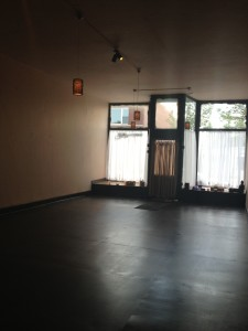 Lotus Yoga's new classroom