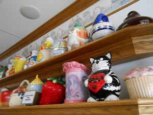 Cookie Jars are everywhere - just pause to check them out. You'll be surprised at all the different styles.