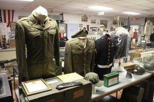 Inside the Veteran's Memorial National Shrine museum