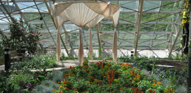 The Foellinger Freimann Botanical Conservatory Is Located At 1100 S.  Calhoun St., In Downtown Fort Wayne, Ind. And Within Walking Distance Of  Two Hotels.