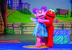 Elmo and Abby Cadabby will be in Fort Wayne, too!
