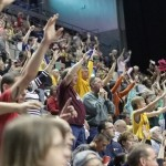 Mad Ants games bring out fans of all ages. Photo by Randy V. Jackson Photography.