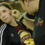 There's more than just basketball at a Mad Ants game. Photo by Ricky V. Jackson Photography