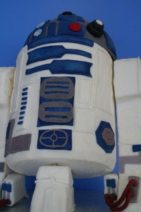 This is the droid cake