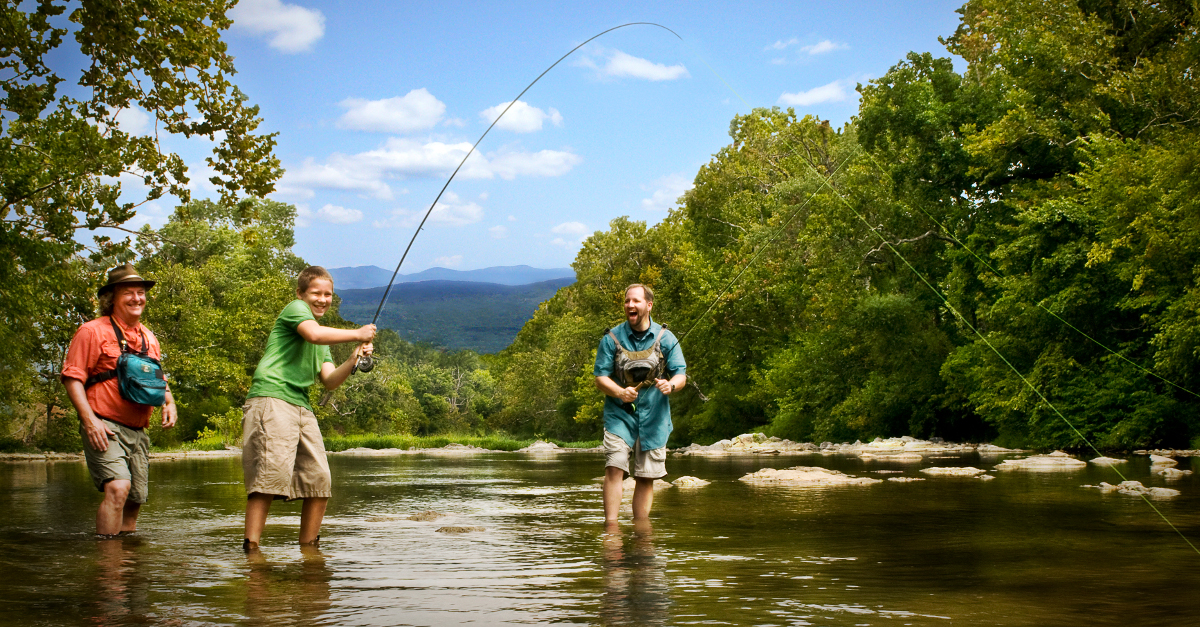 roanoke river fishing smith mountain lake