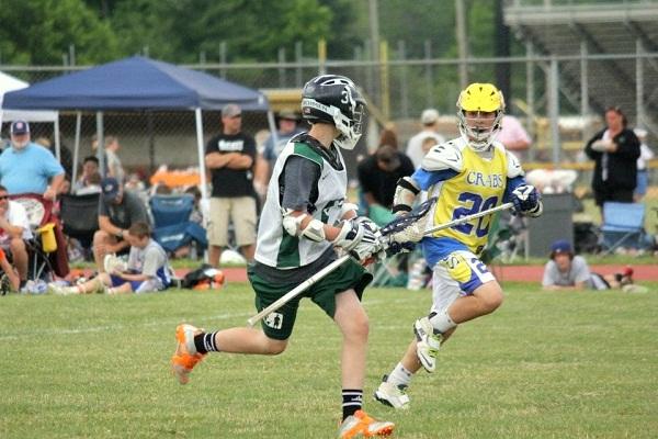 lacrosse running