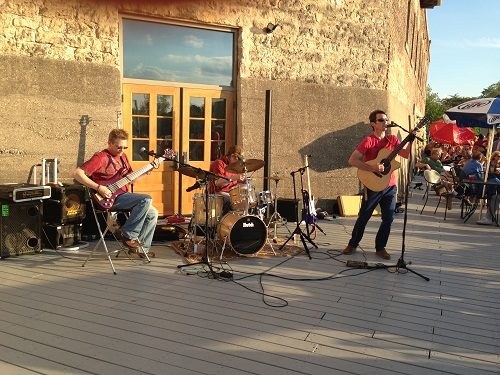 dinner on the dock - band