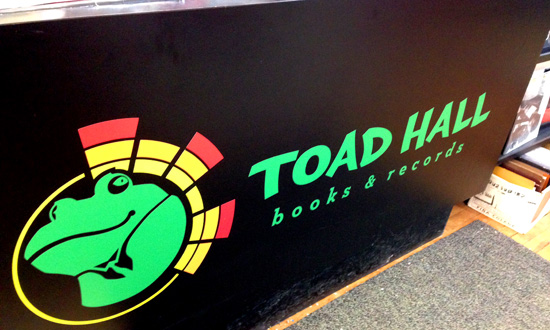 toad hall logo