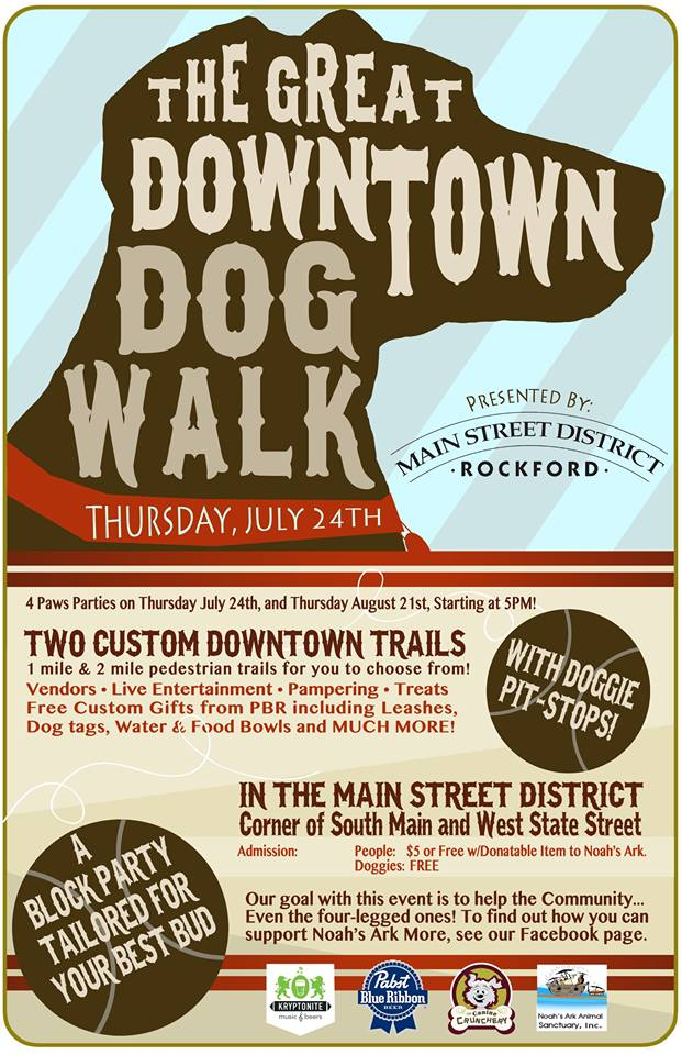 great downtown dog walk