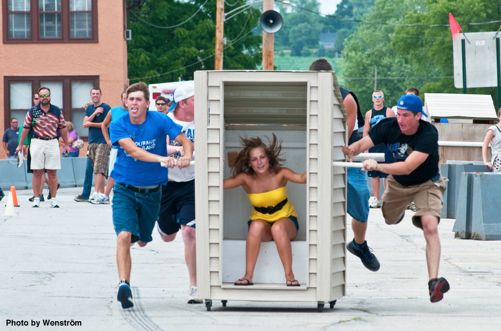 durand outhouse race