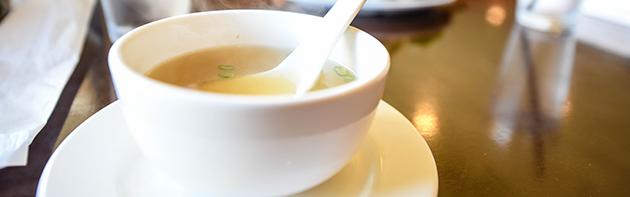 Miso Soup at Tamashii Ramen