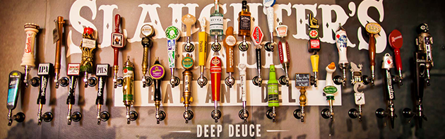 Slaughter's Hall Beer Taps