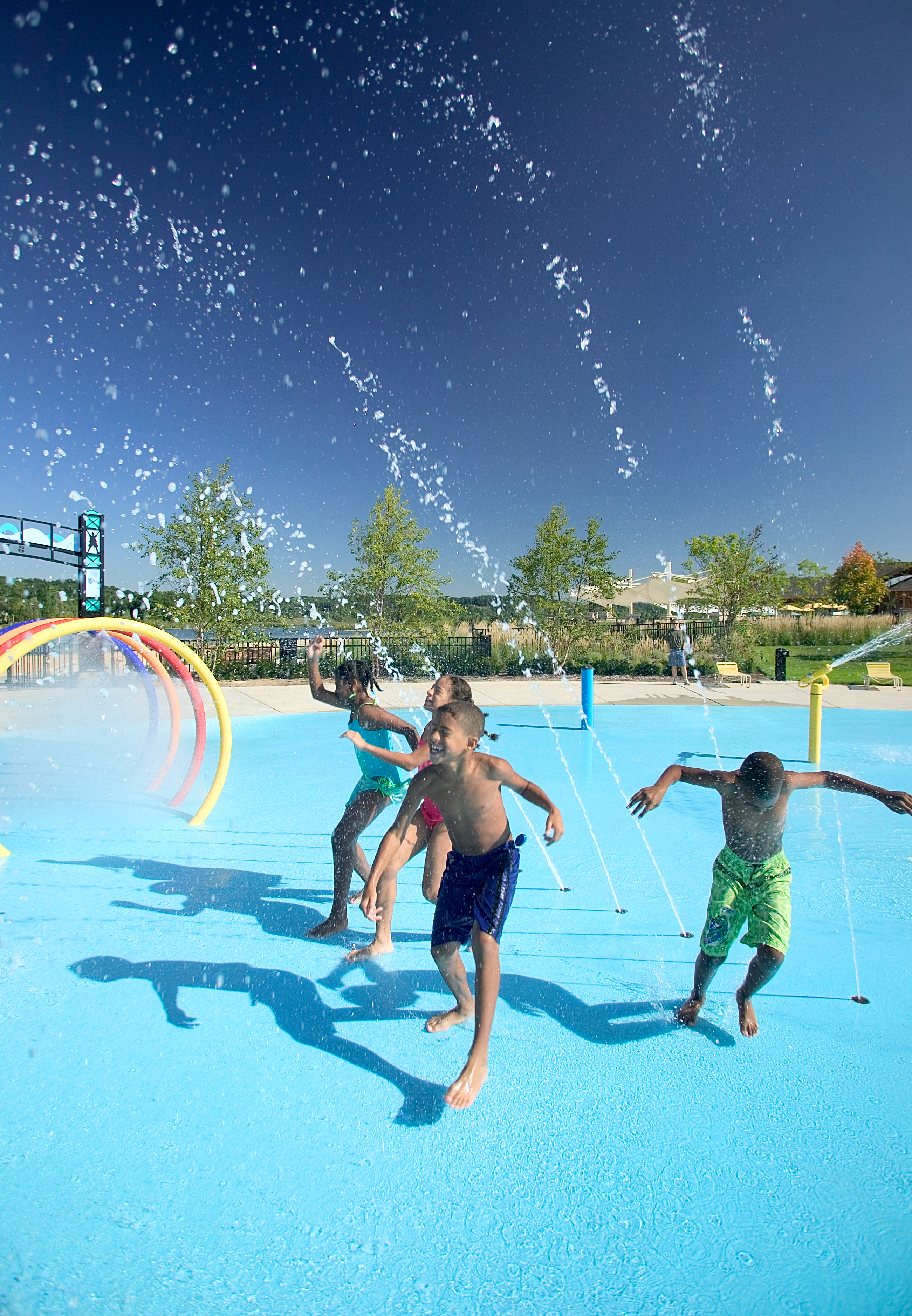 Millennium Park Splash Pad