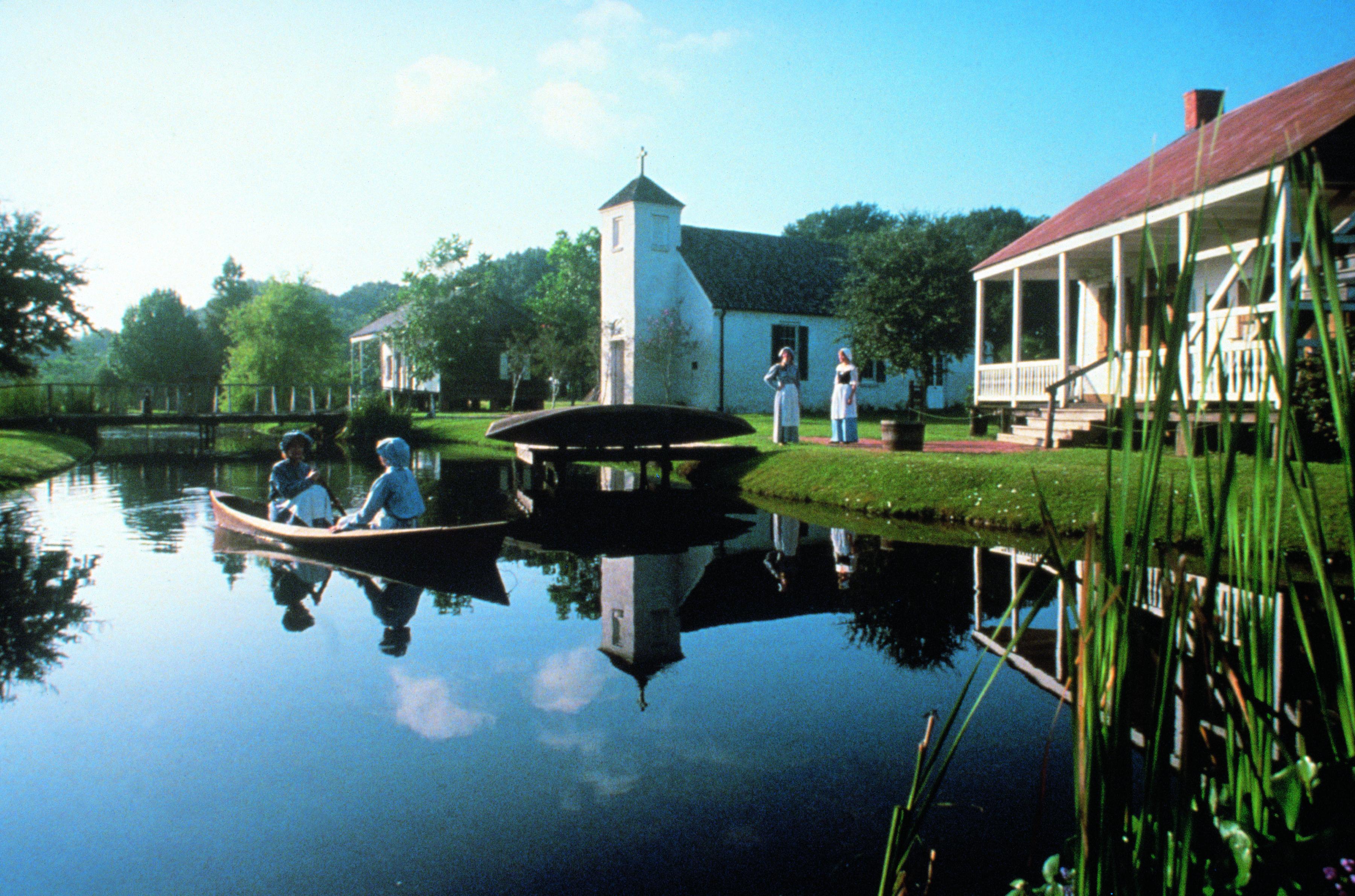 History of Acadiana - LARC