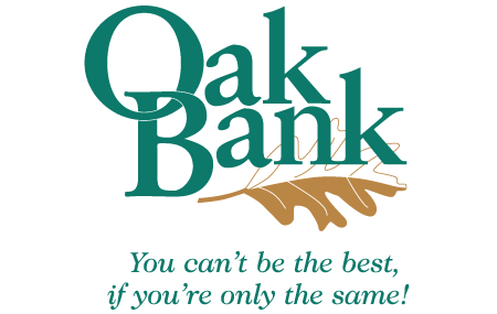 Oak Bank Logo - MSR Sponsor