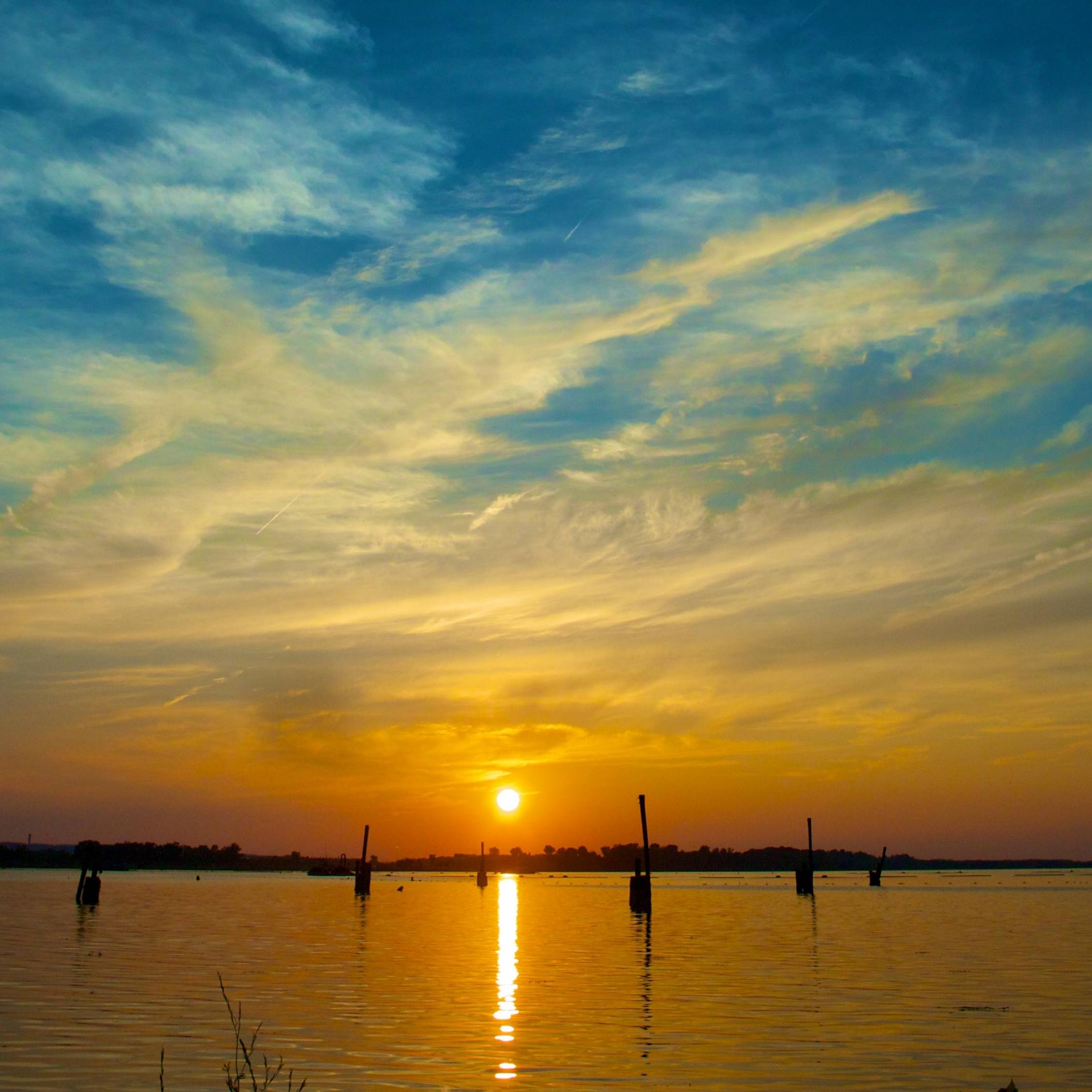 Sunset at Onondaga Lake Park