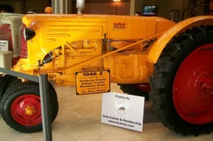 Learn about the history of tractors like this one at the Spring Gas Up event.