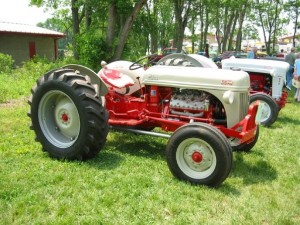 Antique tractors like this one will be on display at the HCATMA's Spring Gas Up from May 31 through June 2.