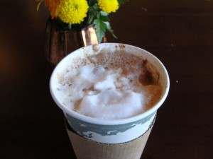 Nutella Latte at The Beehive in Danville, Indiana
