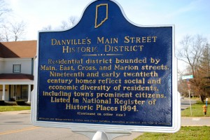 "Danville's Main Street Historic District reflects the ""social and economic diversity"" of the town's residents."