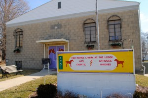 The Red Horse Livery is in the former Masonic Lodge located at 4951 Milton Street in Coatesville, Ind.