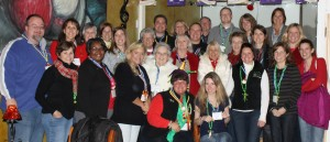 Here's our group. Isn't it time to bring your group to visit Hendricks County?