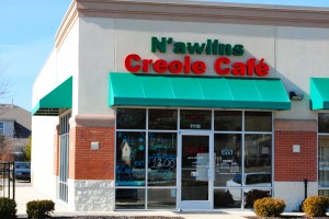 N'awlins Creole Cafe is located at the intersection of 267 and 100 N. (10th Street) in Avon.