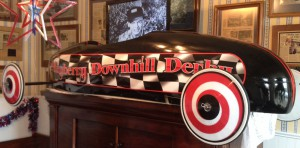 This show car is currently on display at the Mayberry Cafe in Danville.