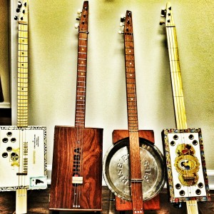 Bill Frisbie's Cigar Box Guitars